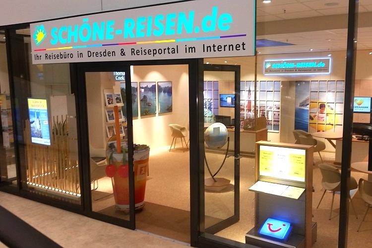 Reisebüro SCHÖNE-REISEN in Dresden im SP 1