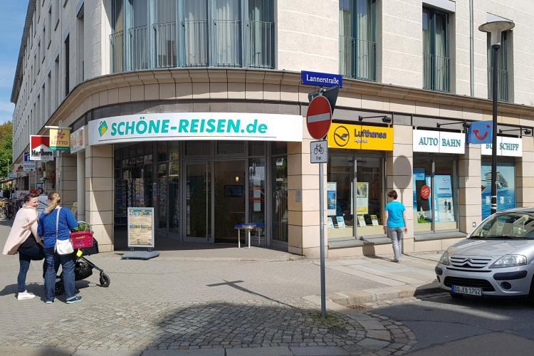 Reisebüro SCHÖNE-REISEN in Dresden am Wasaplatz
