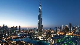 Burj Kalifa in Dubai, 828 m !!