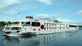 A-ROSA Aqua auf dem Rhein