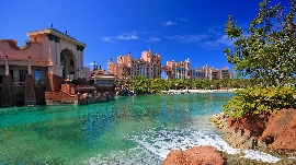Wasserpark im Hotel Atlantis