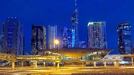 Monorail Station Dubai Marina