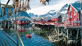Ferienhaus in Norwegen Lofoten