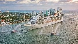 MSC Orchestra in Miami, USA