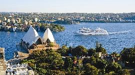 Silversea in Sydney