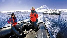 Auf Expeditionskreuzfahrt