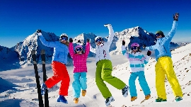 Skiurlaub = Familienurlaub