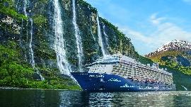 Mein Schiff in Norwegen