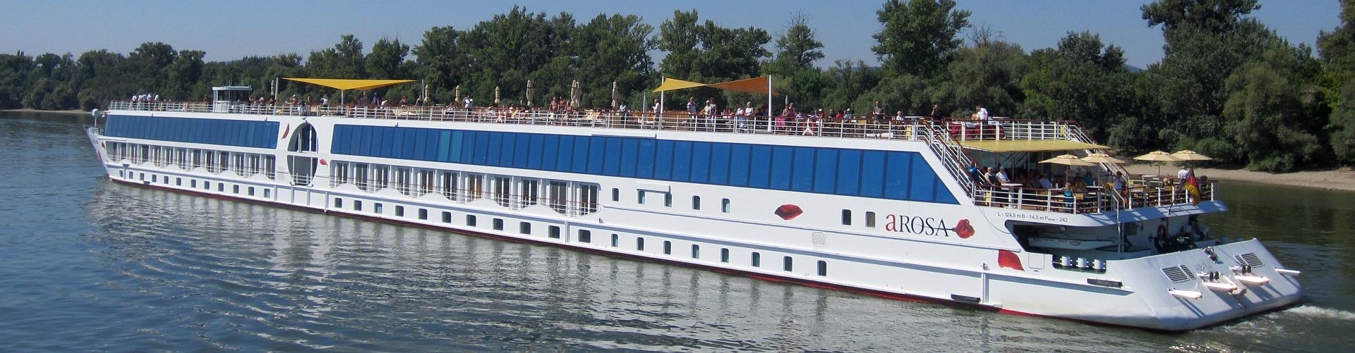 AROSA Stella auf der Rhône