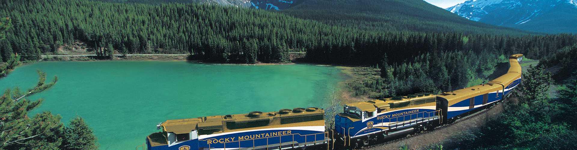 Rocky Mountaineer, Kanada