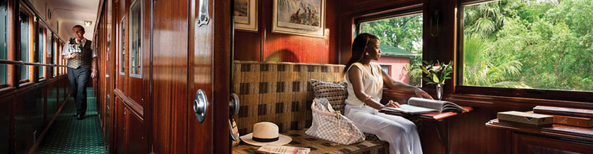 ROVOS RAIL, Luxusurlaub auf Schienen in Südafrika