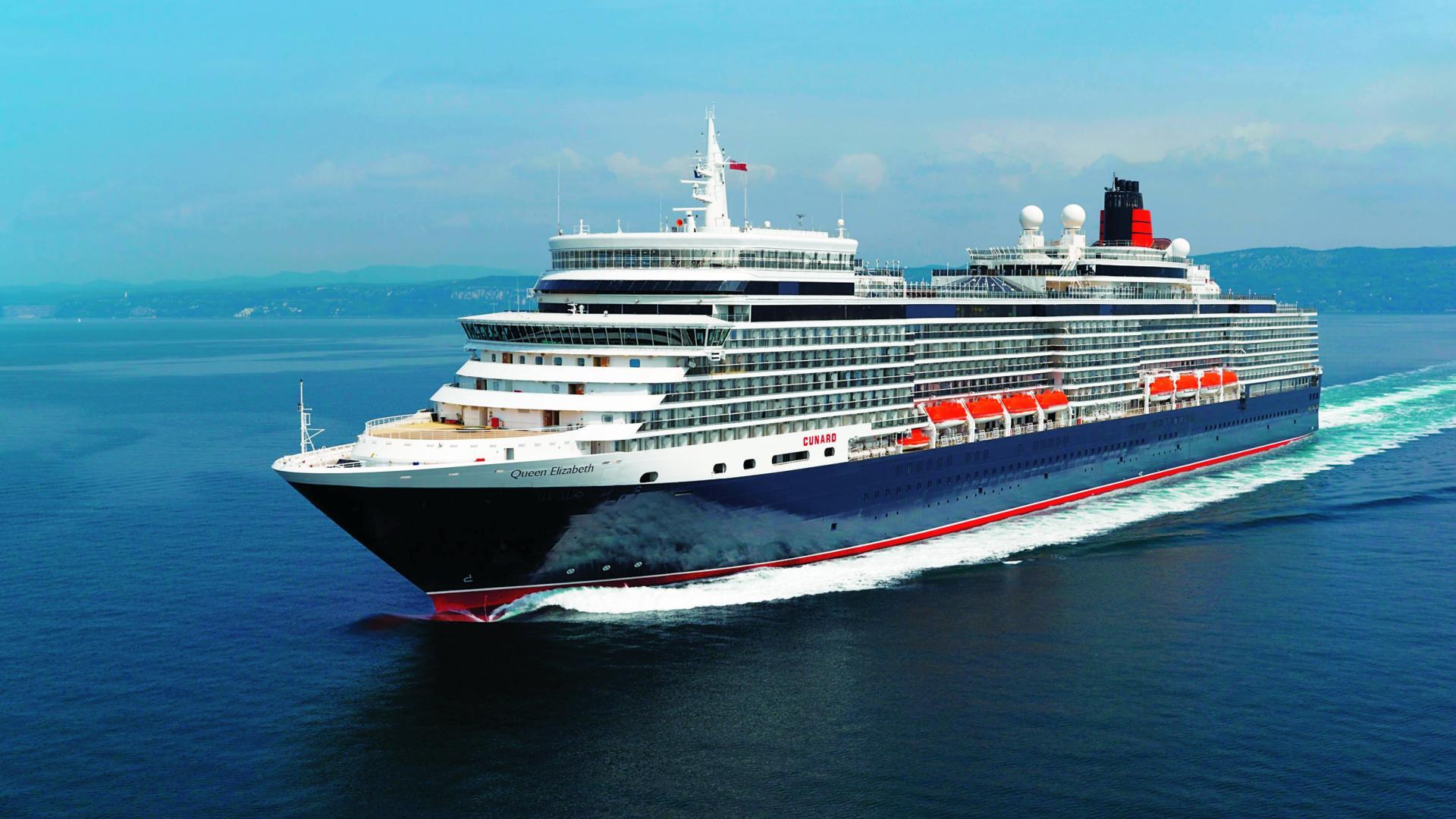 Cunard Line Luxuskreuzfahrt mit Queen Elizabeth