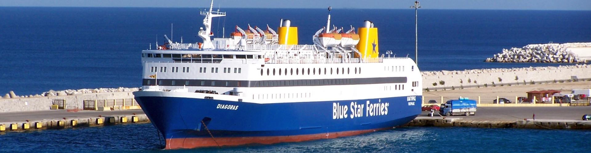 Blue Star Ferries, Mittelmeer