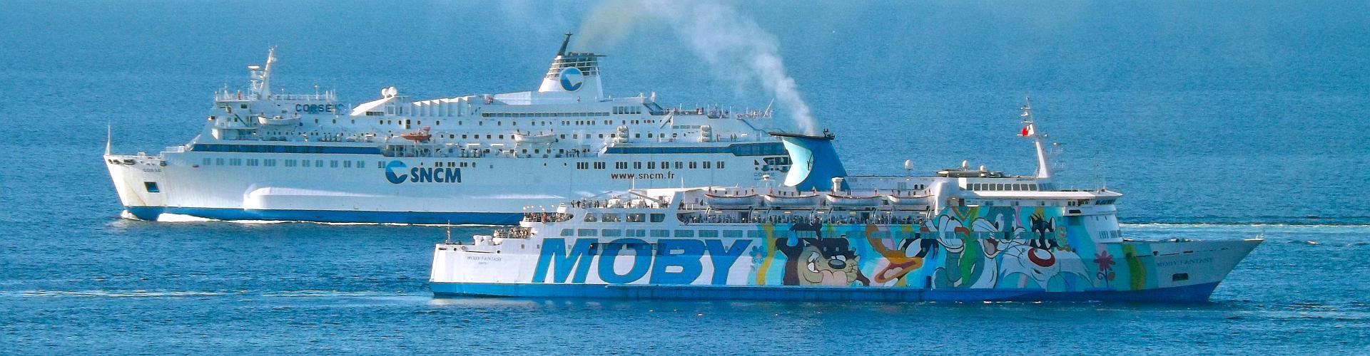 Moby Lines, Mittelmeer