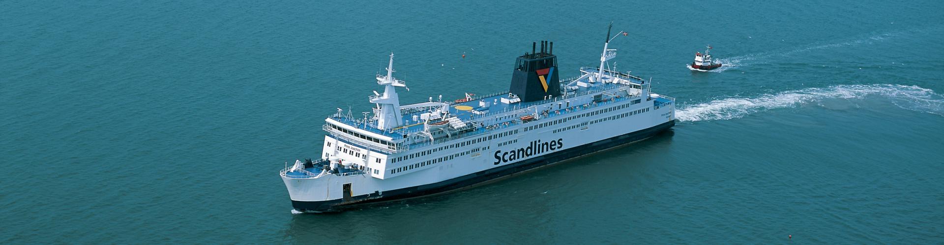 Scandlines Fähre, Ostsee