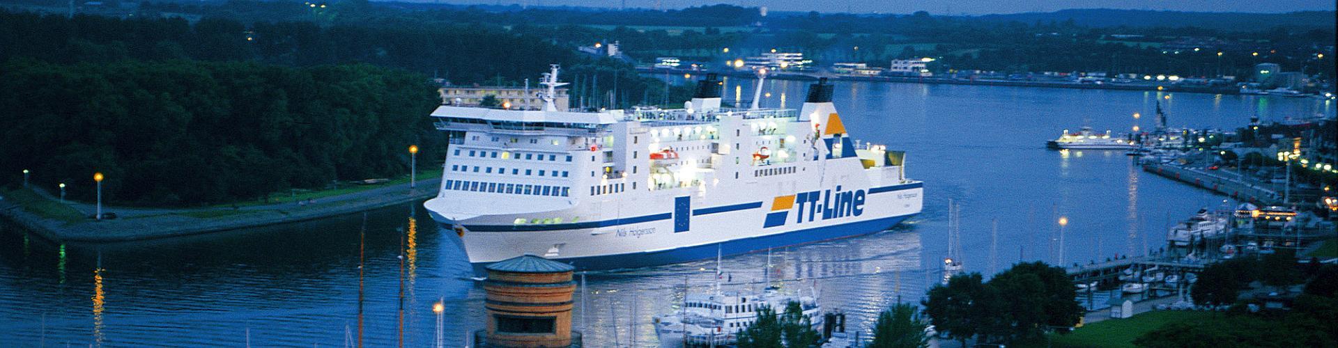 TT-Line Fähre, Ostsee