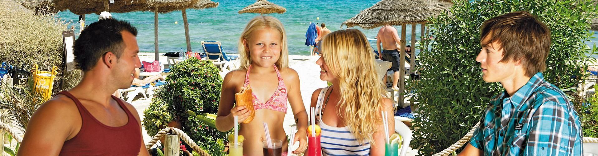 Cluburlaub in Familie genießen