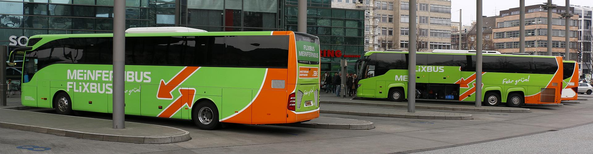 Mit Mein Fernbus ab/an Hamburg