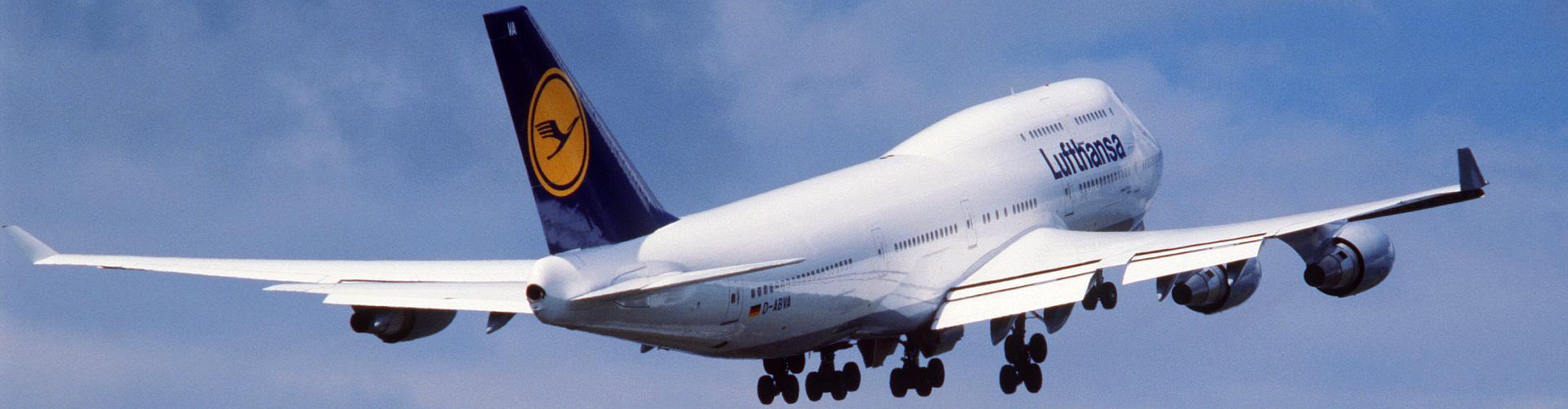 Mit Lufthansa Flug in den Urlaub