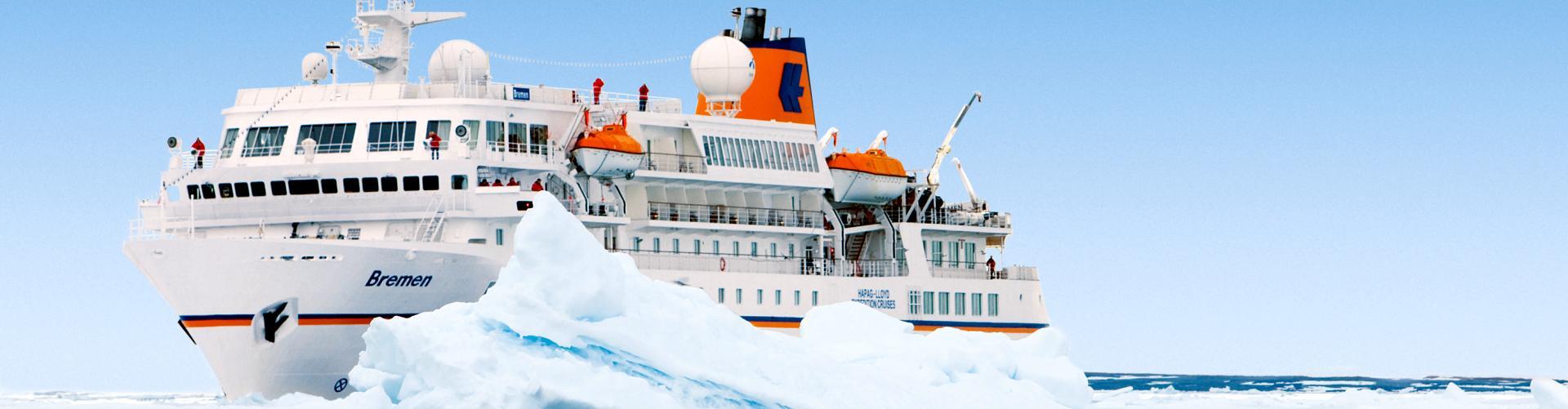 Antarktis Expedition mit MS Bremen