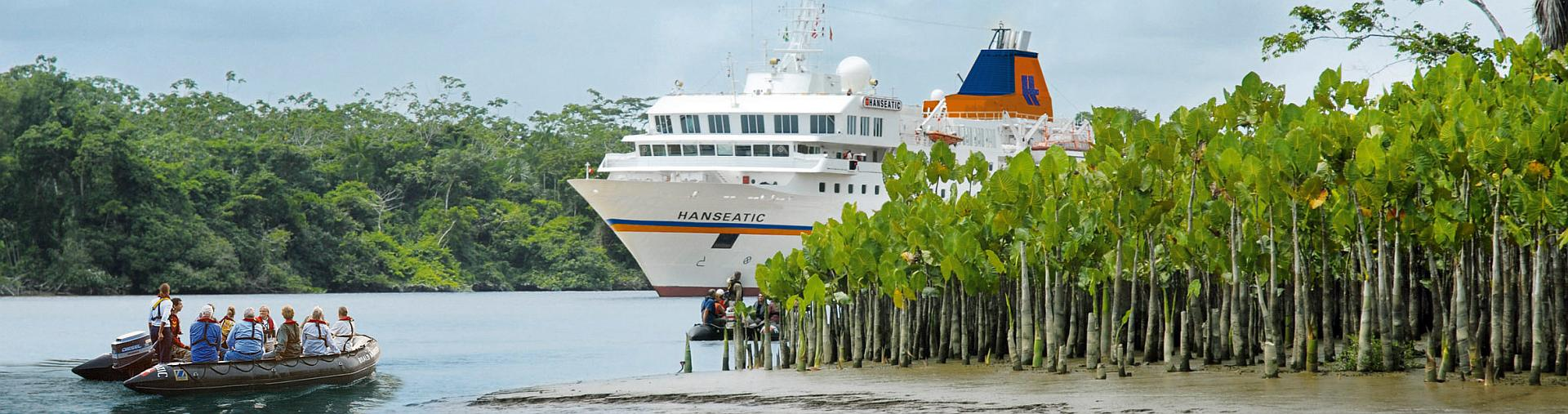 Amazonas Expedition mit MS Hanseatic