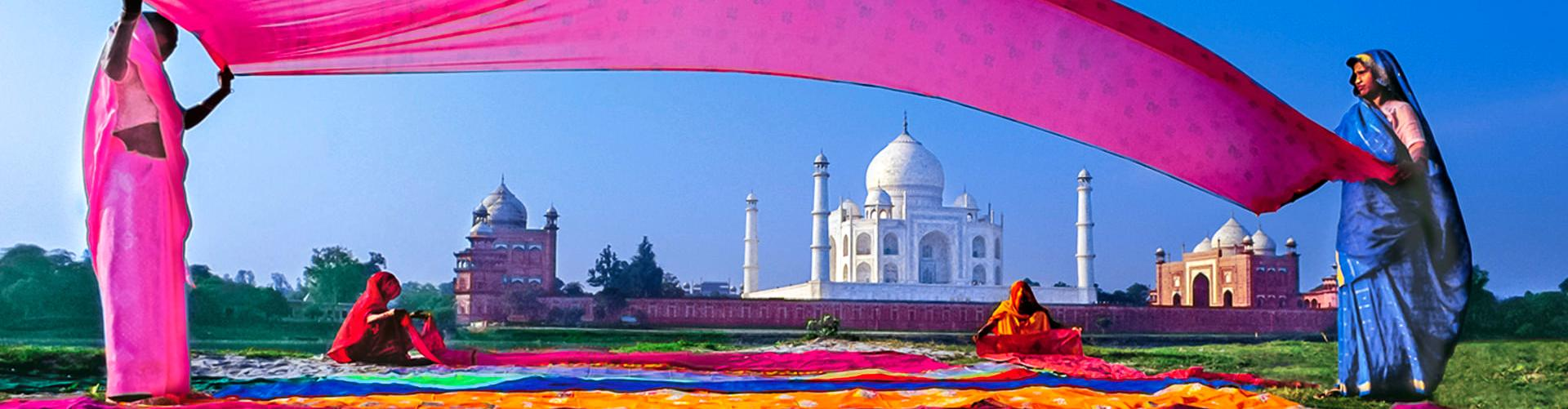 Taj Mahal. Indien mit Gebeco Reisen