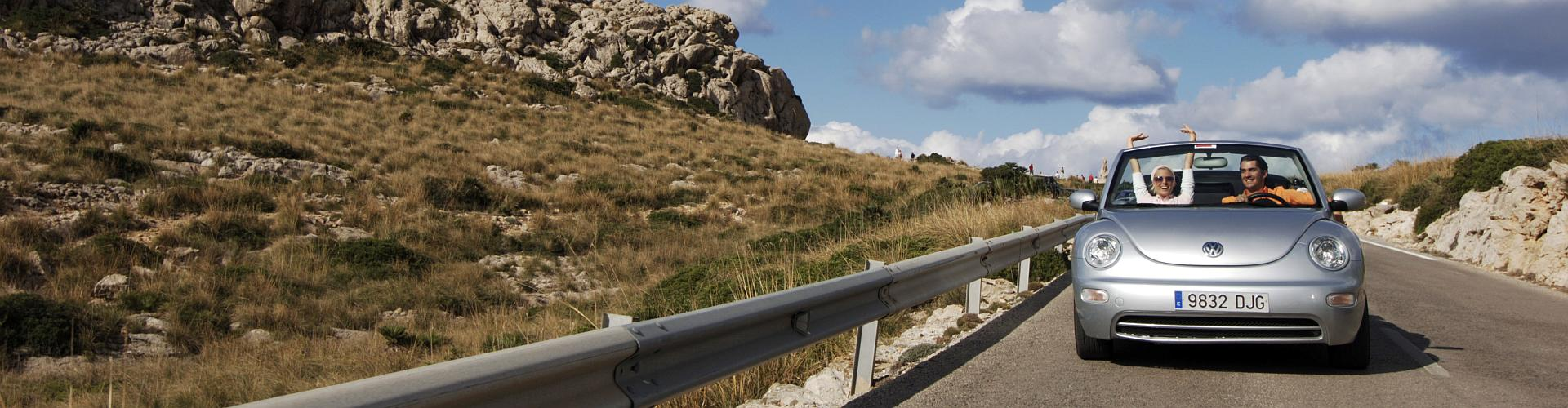 Mietwagen Autovermietung in Spanien