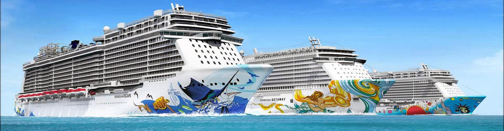 NCL Kreuzfahrten von Ostsee bis Karibik
