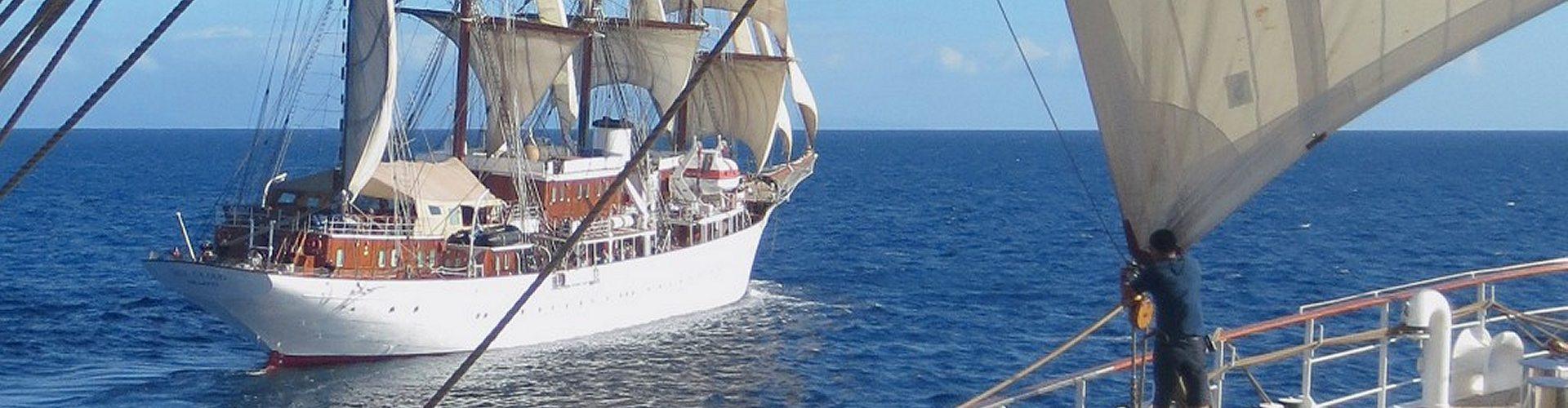 Segelkreuzfahrt - Treffen der Schwesterschiffe