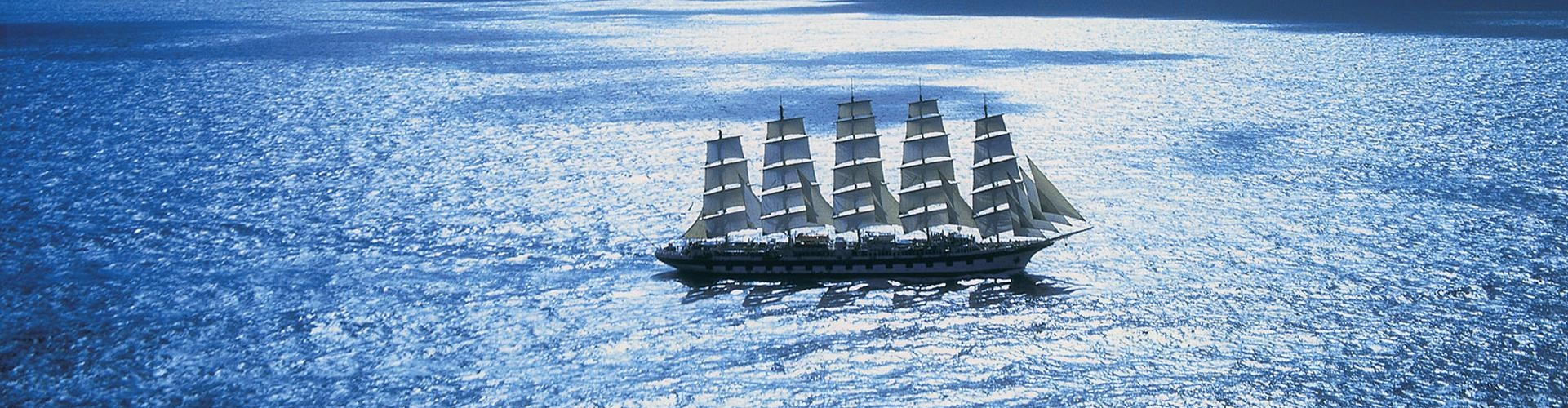 Windjammer mit Royal Clipper