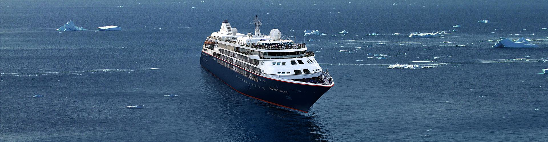 Silversea Expeditionen, Antarktis