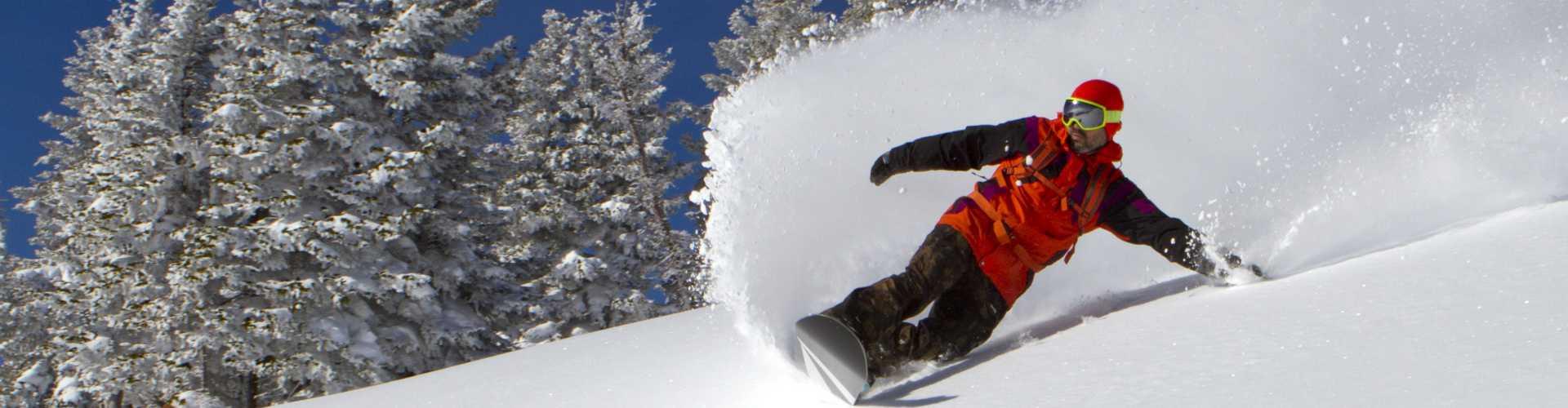 Winterurlaub für Snowboarder