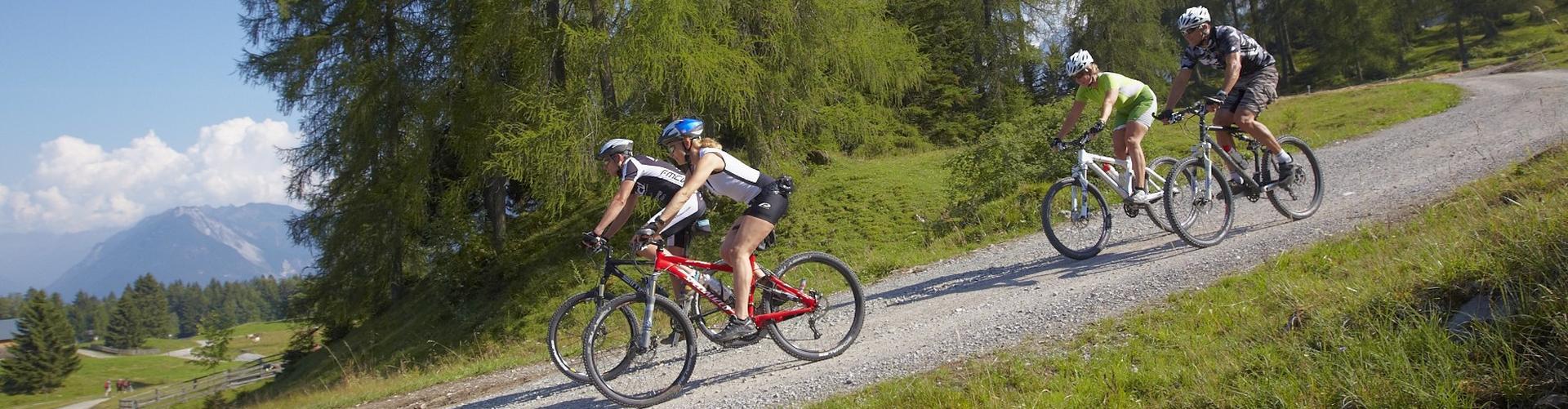 Mountainbiking in Österreich mit Hauser