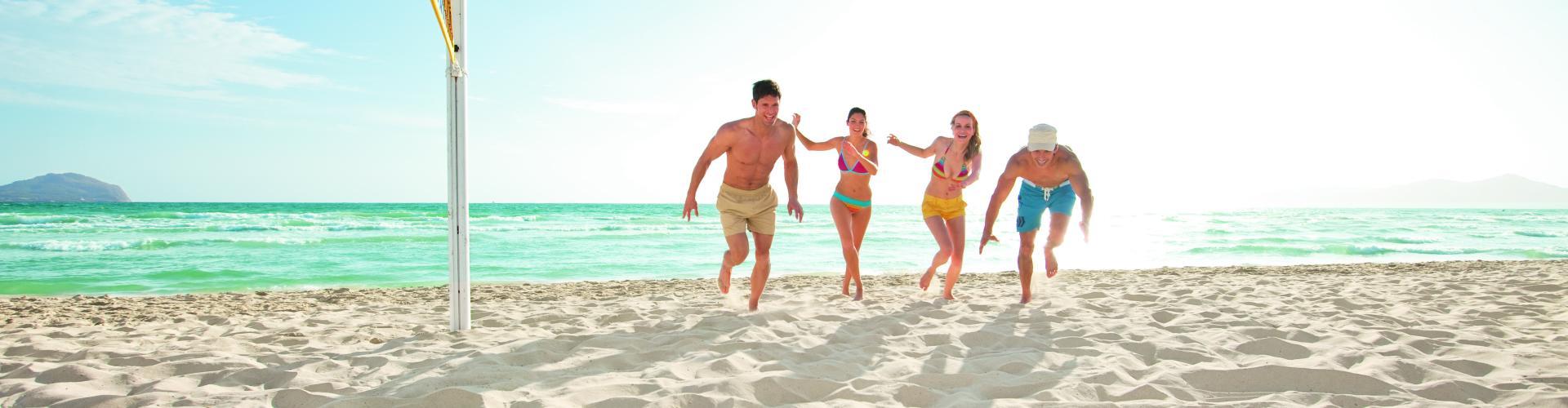 Strandurlaub mit Sport