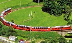 Glacier Express, Schweiz