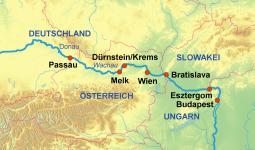 Routenübersicht Nicko Tours Flusskreuzfahrten