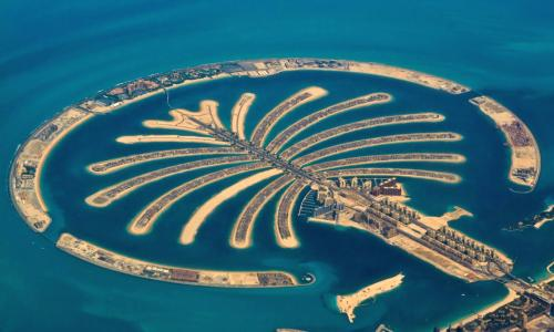 Dubai Palme Palm Jumeirah
